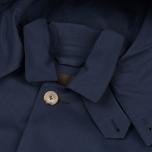 Mackintosh Dunoon Hood Men`s Coat Navy photo- 3