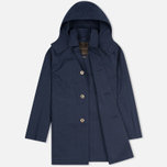 Мужской плащ Mackintosh Dunoon Hood Navy фото- 1