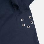 Mackintosh Dunoon Hood Men`s Coat Navy photo- 7