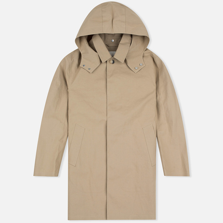 Мужской плащ Mackintosh GR-010 Hooded Top Fawn