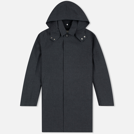 Mackintosh GR-010 Hooded Top Men's Coat Grey