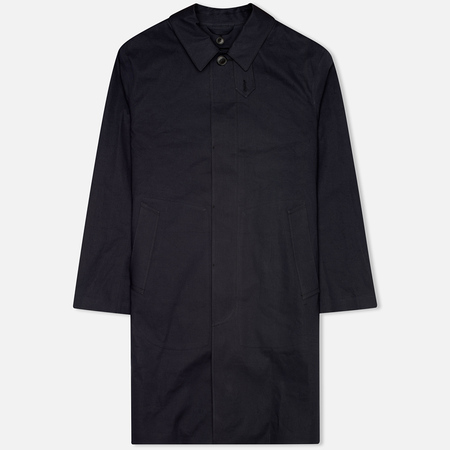 Mackintosh Rubberised Classic Men`s Coat Navy
