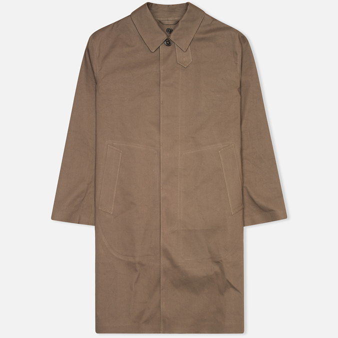 Мужской плащ Mackintosh Rubberised Classic Taupe