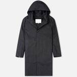Мужской плащ Mackintosh Rubberised Cotton Hooded Black фото- 0