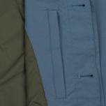 Мужской плащ Norse Projects Thor Crisp Cotton Marginal Blue фото- 3
