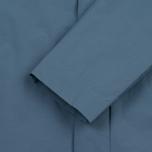 Мужской плащ Norse Projects Thor Crisp Cotton Marginal Blue фото- 6