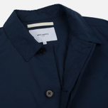 Мужской плащ Norse Projects Thor Crisp Cotton Navy фото- 5