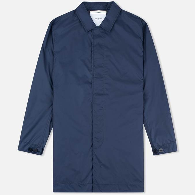 Мужской плащ Norse Projects Thor Light Ripstop Navy