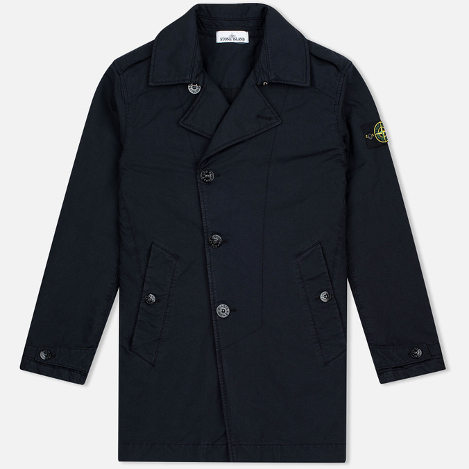 Мужской тренчкот Stone Island David TC Trenchcoat Marine Blue