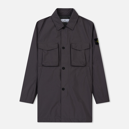 Мужской плащ Stone Island Packable Gore-Tex Blue Grey
