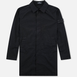 Мужской плащ Stone Island Shadow Project Tela Nylon Mac Black фото- 0