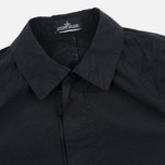 Мужской плащ Stone Island Shadow Project Tela Nylon Mac Black фото- 2