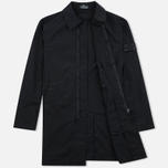 Мужской плащ Stone Island Shadow Project Tela Nylon Mac Black фото- 1