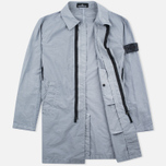 Мужской плащ Stone Island Shadow Project Tela Nylon Mac Grey фото- 1