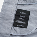 Мужской плащ Stone Island Shadow Project Tela Nylon Mac Grey фото- 8