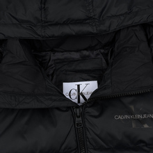 Мужской пуховик Calvin Klein Jeans Monogram Logo Black фото- 1