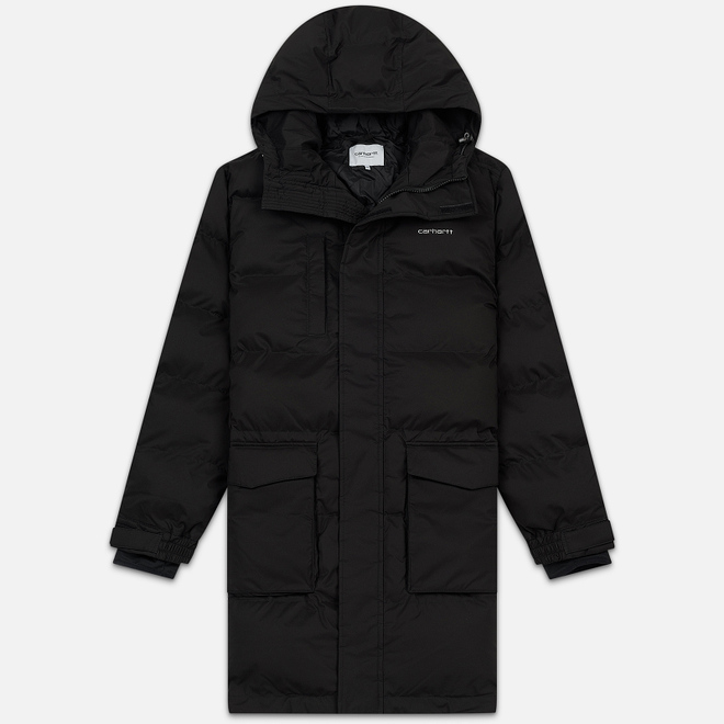 Мужской пуховик Carhartt WIP Weber 2.5 Oz Black/White
