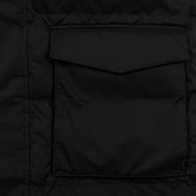 Мужской пуховик Carhartt WIP Weber 2.5 Oz Black/White фото- 1