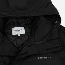 Мужской пуховик Carhartt WIP Weber 2.5 Oz Black/White фото- 3