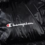 Мужской пуховик Champion Reverse Weave Padded Zip-Up Funnel Neck Hooded Black фото- 4