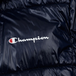 Мужской пуховик Champion Reverse Weave Padded Zip-Up Funnel Neck Hooded Navy фото- 2