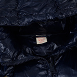 Мужской пуховик Champion Reverse Weave Padded Zip-Up Funnel Neck Hooded Navy фото- 3