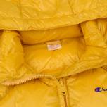 Мужской пуховик Champion Reverse Weave Padded Zip-Up Funnel Neck Hooded Yellow фото- 2