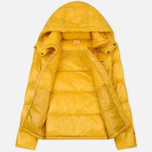 Мужской пуховик Champion Reverse Weave Padded Zip-Up Funnel Neck Hooded Yellow фото- 1