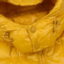 Мужской пуховик Champion Reverse Weave Padded Zip-Up Funnel Neck Hooded Yellow фото- 3