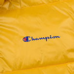Мужской пуховик Champion Reverse Weave Padded Zip-Up Funnel Neck Hooded Yellow фото- 4