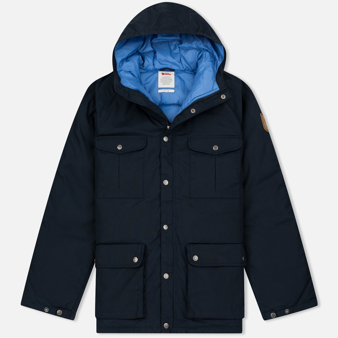Мужской пуховик Fjallraven Greenland Down Dark Navy