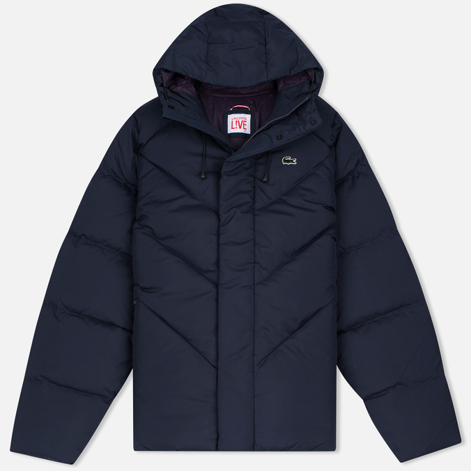Мужской пуховик Lacoste Live Down Filled Navy