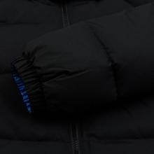 Мужской пуховик Lacoste Live Print Lining Short Reversible Black/Blue/White фото- 6