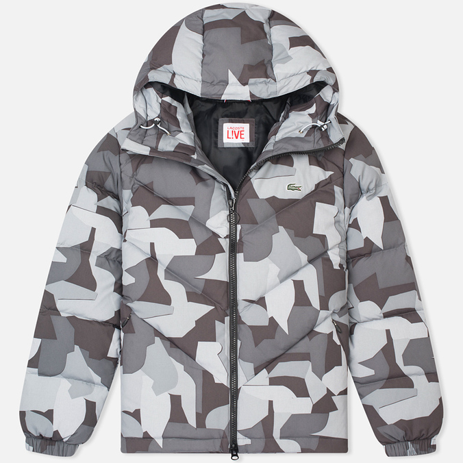 Lacoste Live Quilted Men's Padded Jacket Print