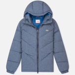 Lacoste Live Quilted Men's Padded Jacket Print Midnight Blue Chine photo- 0