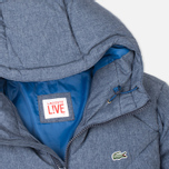 Lacoste Live Quilted Men's Padded Jacket Print Midnight Blue Chine photo- 2