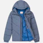 Lacoste Live Quilted Men's Padded Jacket Print Midnight Blue Chine photo- 1