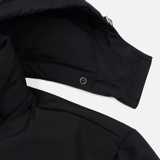Мужской пуховик Lacoste Multiple Pockets Water-Resistant Hoodie Black
