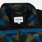 Мужской пуховик Lacoste Sport Colourblock Water-Resistant Black/Blue/Khaki Green фото - 1