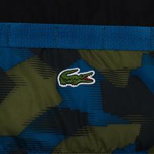 Мужской пуховик Lacoste Sport Colourblock Water-Resistant Black/Blue/Khaki Green фото- 4