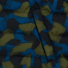 Мужской пуховик Lacoste Sport Colourblock Water-Resistant Black/Blue/Khaki Green фото- 5