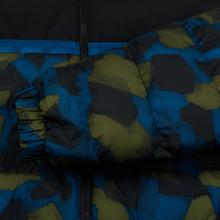 Мужской пуховик Lacoste Sport Colourblock Water-Resistant Black/Blue/Khaki Green фото- 6