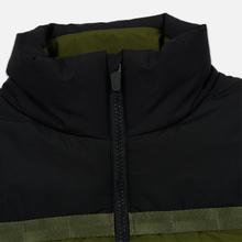 Мужской пуховик Lacoste Sport Colourblock Water-Resistant Black/Khaki Green фото- 3