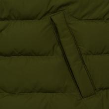 Мужской пуховик Lacoste Sport Colourblock Water-Resistant Black/Khaki Green фото- 5