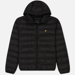 Мужской пуховик Lyle & Scott Lightweight Puffer True Black фото- 0
