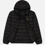 Мужской пуховик Lyle & Scott Lightweight Puffer True Black фото- 1