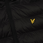 Мужской пуховик Lyle & Scott Lightweight Puffer True Black фото- 4