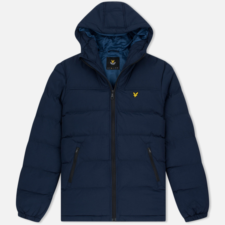 Lyle & Scott Wadded Parka Men's Padded Jacket Navy