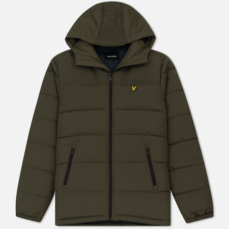 Мужской пуховик Lyle & Scott Wadded Parka Olive