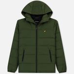 Мужской пуховик Lyle & Scott Wadded Woodland Green фото- 0